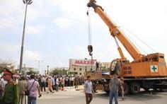 Bảo vệ dân trước xe ben, Đà Nẵng phớt lờ Bộ GTVT