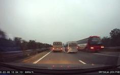 Phạt tài xế láixengược chiều trên cao tốc8,5 triệu đồng