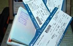 65 hành khách bị lừa mua vé qua mạng tại Nhật