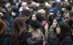 Nhật Bản dành 1 phút tưởng niệm nạn nhân động đất - sóng thần