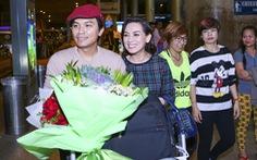 Phi Nhung ra sân bay đón Mạnh Quỳnh về Sài Gòn