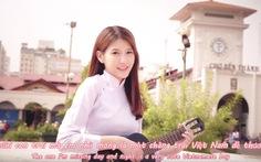 """Clip hot girl Malaysia hát tiếng Việt """"Em nhớ anh"""" giữa Sài Gòn"""