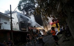 Máy bay của đại gia dầu mỏ Brazil rơi, 7 người chết