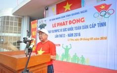 Ngày chạy Olympic tại huyện đảo Lý Sơn