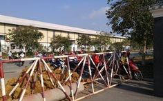 Công an vào cuộc vụ KCN đổ đất chắn cổng doanh nghiệp