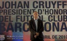Thế giới bóng đá tiếc thương huyền thoại JohanCruyff