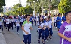 Phát động chạy vì sức khỏe