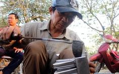 2 người thợ gò hàn cuối cùng ở Huế