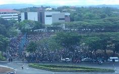 ĐH hàng đầuPhilippines bị dọa bom, hàng ngàn người sơ tán