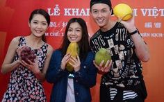 Xem clip sao TVB Vạn Ỷ Văn chào khán giả Việt Nam