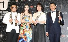 Quách Phú Thành đoạt giải Kim Tượng Hong Kong