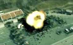 Triều Tiên tung video bắn tên lửa hủy dinh tổng thống Hàn