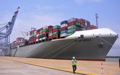 Cảng Cái Mép đón tàu siêu trọng 150.000 tấn