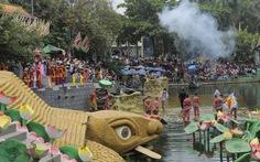 2.000 người tái hiện các triều đạivua Hùng tại Suối Tiên