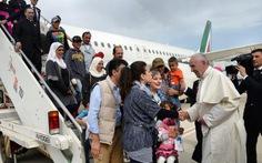 Đức Giáo hoàng đưa người tị nạn Hồi giáo về Vatican