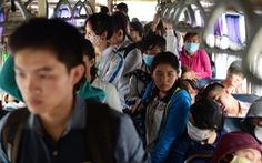 Sinh viên phản ảnh về xe buýt còn bị đe dọa