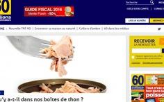 Pháp cảnh báo về cá ngừ đóng hộp
