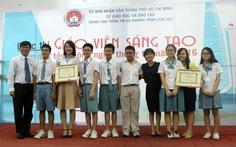 Trường Đinh Thiện Lý đoạt 2 giải nhất giáo viên sáng tạo