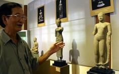 Ngẩn ngơ với bộ tượng điêu khắc Óc Eo