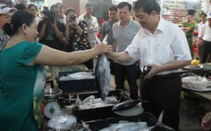 Đà Nẵng: Ngày đầu ra chợ, cá sạch được bán nhanh
