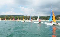 """Lần đầu tiên đua thuyền buồm trên """"đảo ngọc"""" Phú Quốc"""