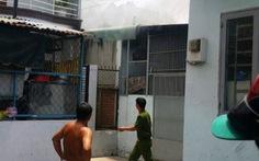 Xe ngã vào bếp gas gây cháy phòng trọ, ba người nhập viện