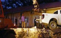 Di dời quả bom nặng 250kg khỏi công trường xây dựng