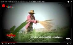 VTV xin lỗi, đình chỉ phóng viên vụ cây chổi quét rau