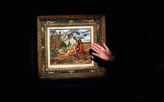 Tranh của nghệ sĩ Mexico gây sốc vì lập kỷ lục về giá bán