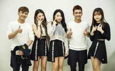 Nhóm P&Ptrình diễn cùng các ngôi sao K-Pop tại đảoJeju