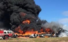 Pháo đài bay B-52 của Mỹ rơi ở Guam
