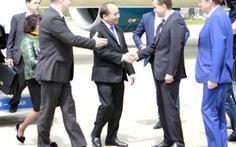 Thủ tướng Nguyễn Xuân Phúc đến Sochi
