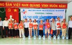Công ty TNHH CJ Vina Agri đồng hành cùng người dân vùng hạn, mặn