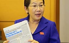 Bà Võ Thị Dung làm Phó Bí thư Thành ủy TP.HCM