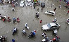 Hà Nội mưa 373,8mm trong 24 tiếng