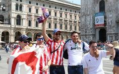 Milan tràn ngập nụ cười