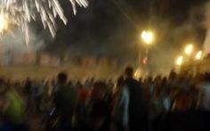 Pháo hoa rơi trúng đám đông ở Nga, 10 người bị thương