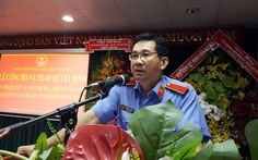 Ông Dương Ngọc Hải làm viện trưởng Viện kiểm sát TP.HCM