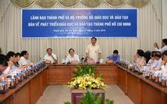 Bí thư Đinh La Thăng:Giáo dục đào tạo phải theo thị trường
