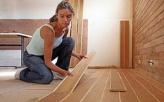 Mẹo xử lý sàn gỗ bị phồng rộp do nước
