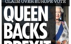 Báo The Sun của Anh kêu gọi người dân bỏ phiếu rời EU