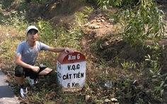 """""""Đứa con của rừng"""" chạy 150km vì môi trường"""