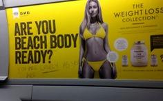 London cấm quảng cáo chân dài, dáng chuẩn