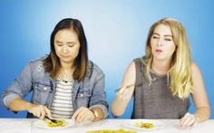 Xem clip người Mỹ thích ăncơm tấm, bánh xèo Việt Nam