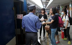 Chạy lại tàu chất lượng cao Hà Nội - Thanh Hóa