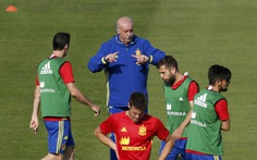 HLV Del Bosque xài quân quá sang