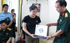 Trung ương Đoàn thăm hỏi gia đìnhquân nhân đội bay Casa 212