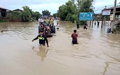 Đắk Lắk mưa lớn, nhiều khu vực bị chia cắt