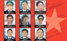 Ngày 30-6, tổ chức lễ truy điệu 9 quân nhân CASA-212