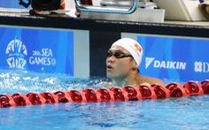 Lâm Quang Nhật phá kỷ lục quốc gia cự ly 1.500m tự do
